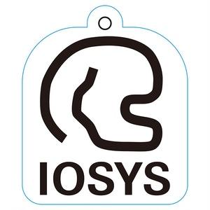 IOSP-0380_IOSYSロゴ ノーマルアクリルキーホルダー