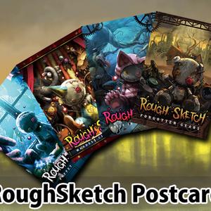 NBSP-021_RoughSketch ポストカード 4枚セット