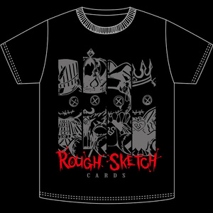 NBSP-034_RoughSketch CARDS Tシャツ