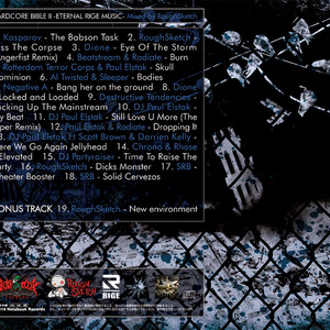 NBCD-018_HARDCORE BIBLE II - ETERNAL RIGE MUSIC - Mixed by RoughSketch