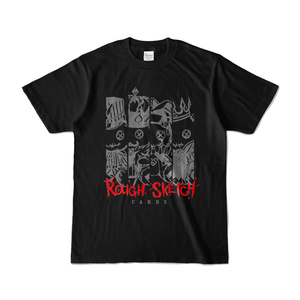 NBSP-034PF_RoughSketch CARDS Tシャツ