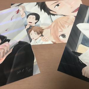 ポストカード(城戸・忍田・旧ボ)