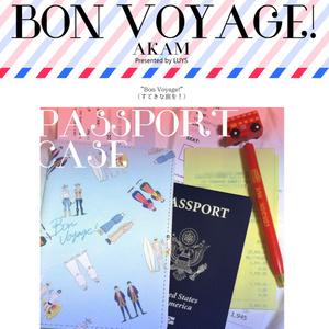 BON VOYAGE! AKAM パスポートケース