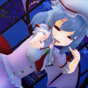 (魔王産VRコンテンツ用)スカーレット姉妹