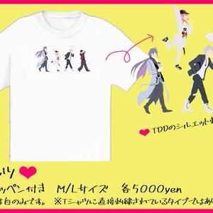TDD刺繍Tシャツ
