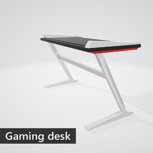 Gaming desk (red)