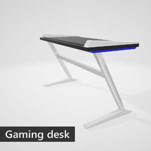 Gaming desk (blue)
