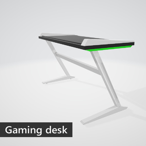 Gaming desk (green)