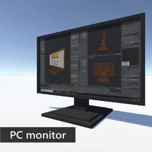 PC monitor (blender ver)