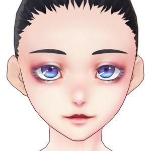 vroid 顔スキン