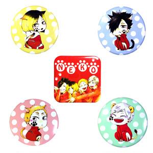 音駒缶バッチ②(5種類)