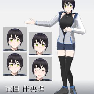 VRMモデル 正圓佳央理