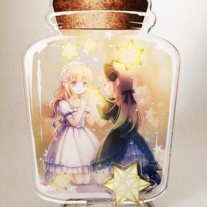 アクリルフィギュアキーホルダー「幻想少女硝子店」