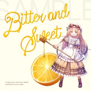 トートバッグ&缶バッジセット「Bitter and Sweet」