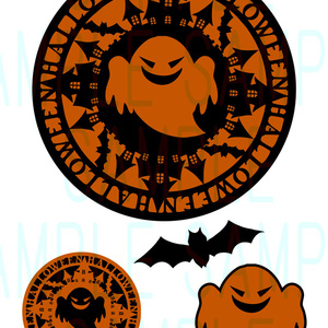 素材【Halloween-Ghost-】