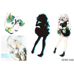 YuNi ステッカーセット