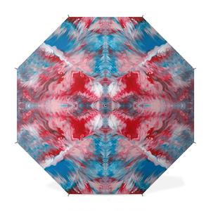 色彩の羽根 傘 001