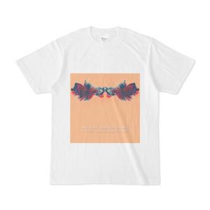 色彩の羽根 002 白Tシャツ