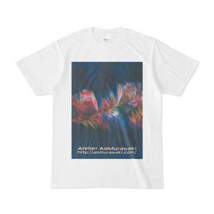 色彩の羽根 004 白Tシャツ
