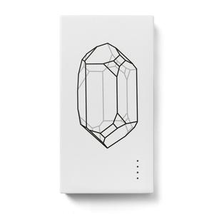 結晶モバイルバッテリー