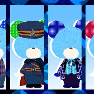 【A3!】冬組 第二回公演 衣装ベア