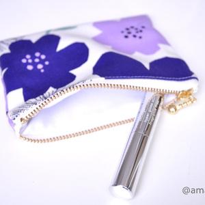 フラットミニポーチ Flower