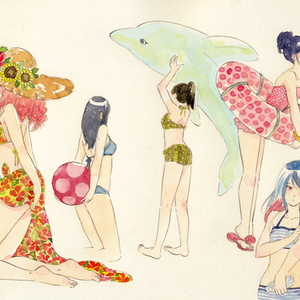 scale girls illustrations vol.1