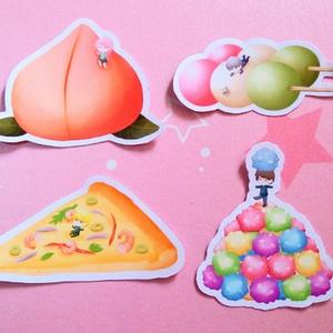 【黒バス】和菓子ステッカーシール