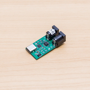 USB Power Delivery to DC Jack アダプタ