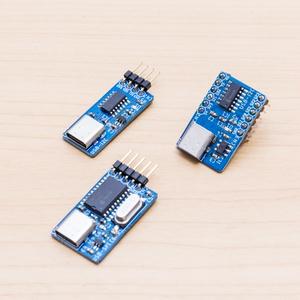 USB Type-C to I2C/SPI変換ボード