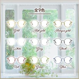 全9色 丸眼鏡 Round glasses 3Dモデル