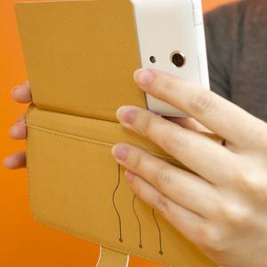 Android手帳型スマホケース