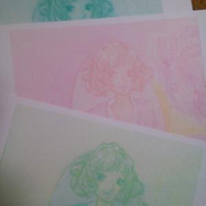 ポストカード(女性2)×3枚