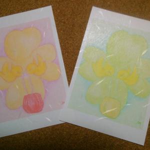 ポストカード(鳥の祝福2)×2枚