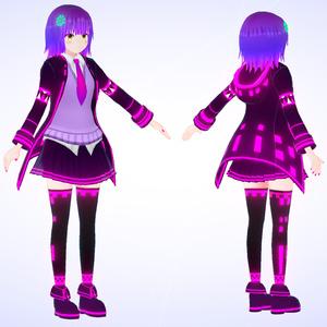 3Dモデル『レミナ』VRChat想定アバター