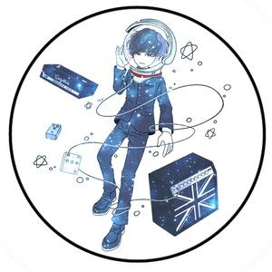 缶バッジ satellite