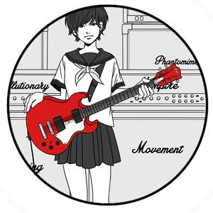 缶バッジ guitargirl