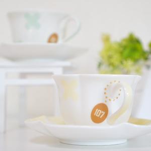 GENJI Cup&Saucers