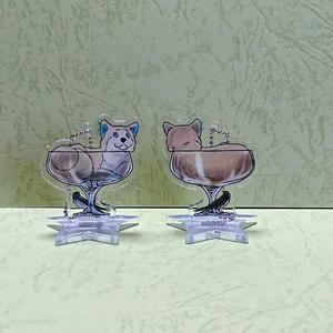 アクリルスタンド ジロウイン幅広グラス