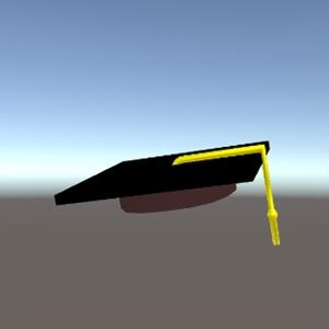 スクエアアカデミックキャップ(卒業式用の帽子)
