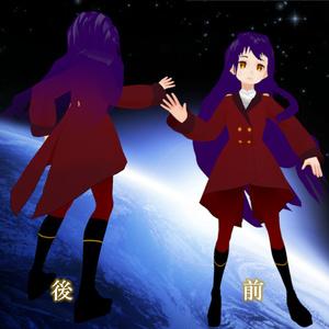 火星軌道騎士37家門伯爵の赤軍服(女性用) ver1.0