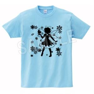 チルノ シルエット カラーTシャツ 東方Project