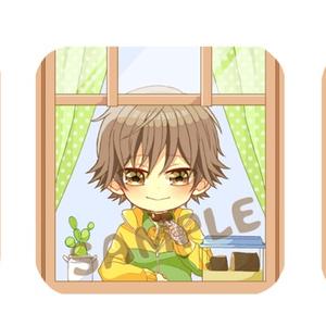 【テニプリ】缶バッチ【エクスタピアス】