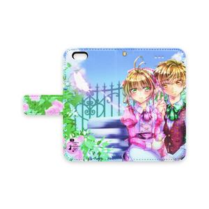 カードキャプターさくら手帳型iPhoneケース