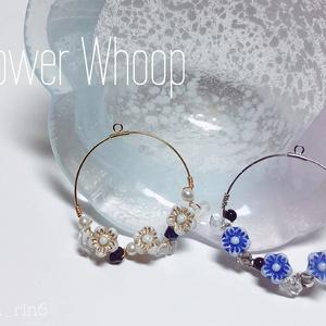 【耳飾り】山姥切 Flower Whoop