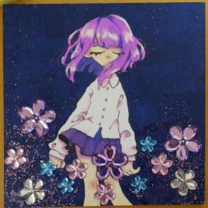 【原画】きらきらのお花畑で