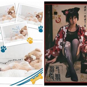 【C90】新刊 オリジナル雑誌風写真集 「J± CANDY FANTASTIC GIRLY ARTBOOK 001」