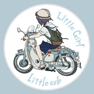 Little girl Little cub ステッカー(ver.2)
