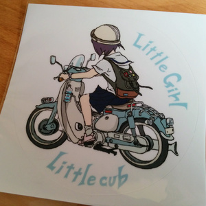 Little girl Little cub ステッカー