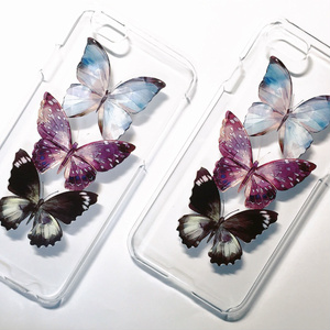 3 Butterflies / iPhoneケース